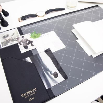 Multifunctional Modern Office Desk Mat gray