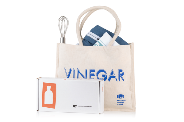 Ultimate Vinegar Gift Set (Four vinegar bottles)