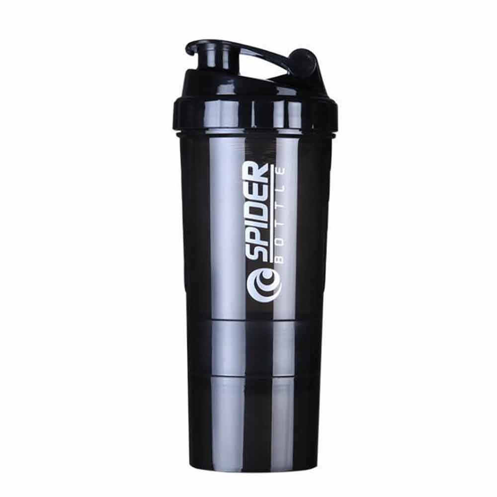 Shaker pour Protéine avec 3 Compartiments SPIDER BOTTLE - Xtrem Fitness