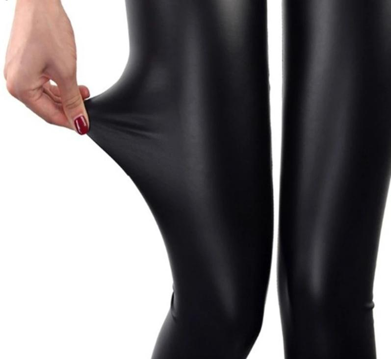 Legging Style faux Cuir S-XXXL Sexy Extensible - Xtrem Fitness