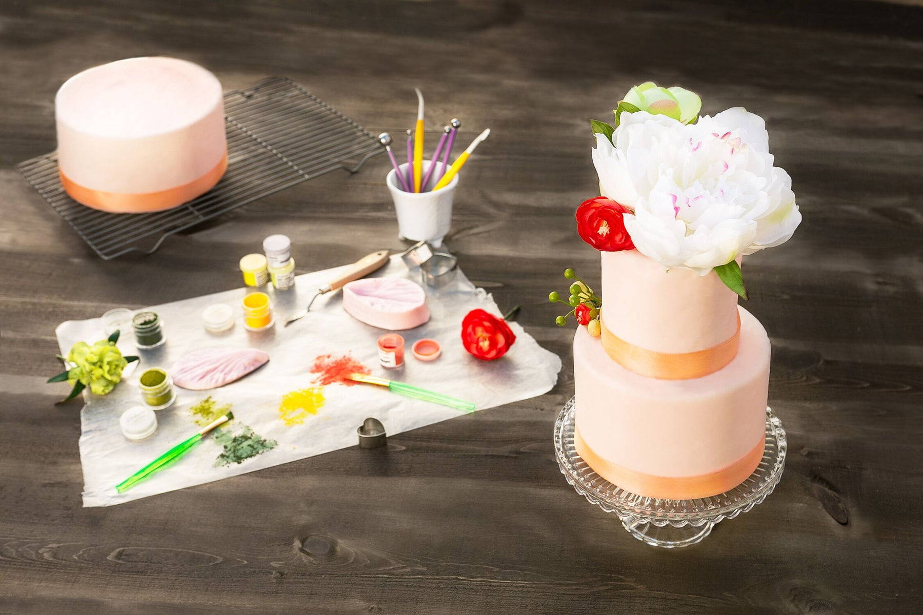 Deliciae floral decorated cakes