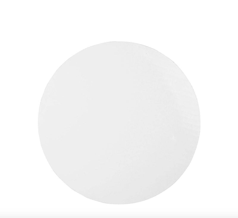"White Round Cake Boards - 1/4 "" thick"