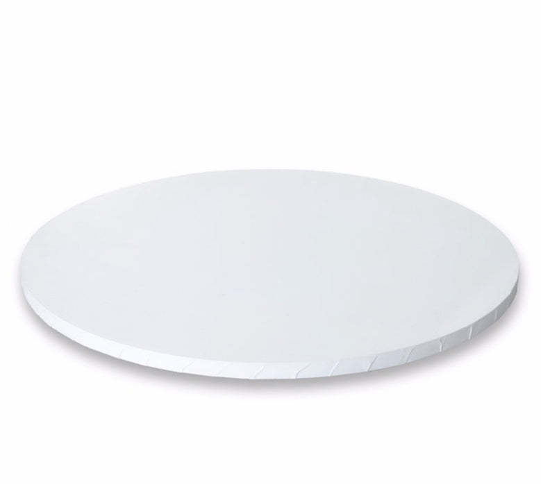"white Round Cake Drums - 1/2 "" thick"