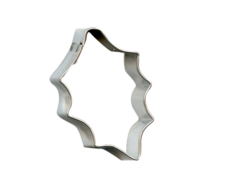 Mini Holly Cookie Cutter, 1.75""