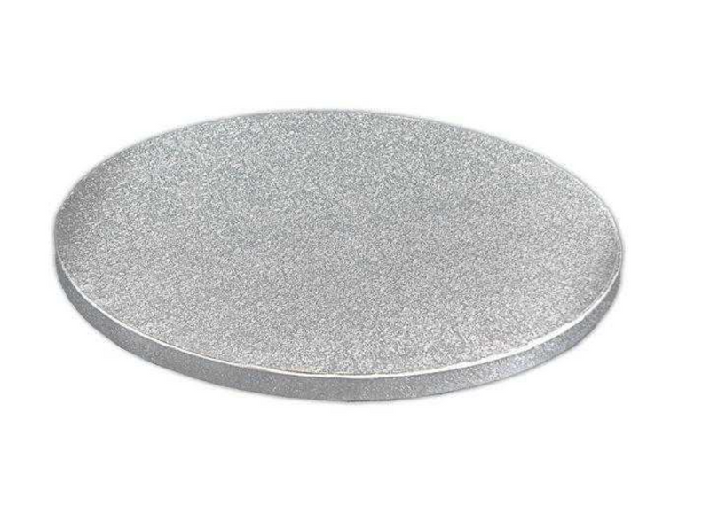 "Silver Round Cake Drums - 1/2 "" thick"