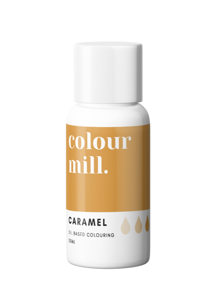 Colour Mill Oil Based Colouring 20ml Caramel