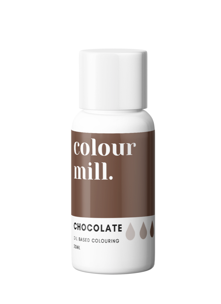 Colour Mill Oil Based Colouring 20ml Chocolate