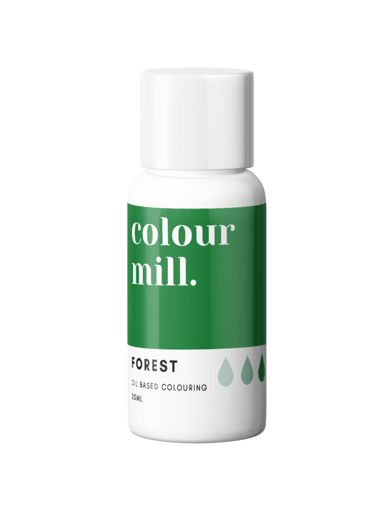 Colour Mill Oil Based Colouring 20ml Forest Green