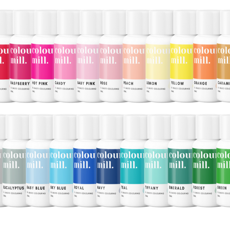 Colour Mill Oil Based Colouring 20ml - select set of 23