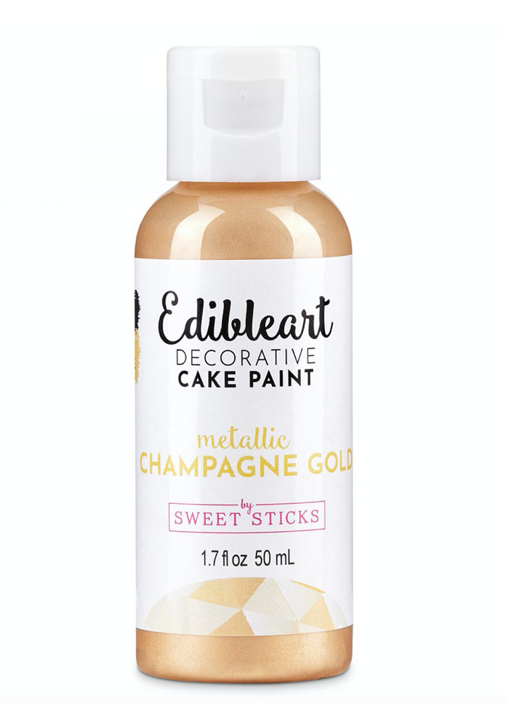 Champagne Gold 15mL - Edible Art Decorative Paint