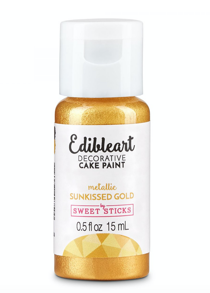 Sun kissed Gold 15mL - Edible Art Decorative Paint