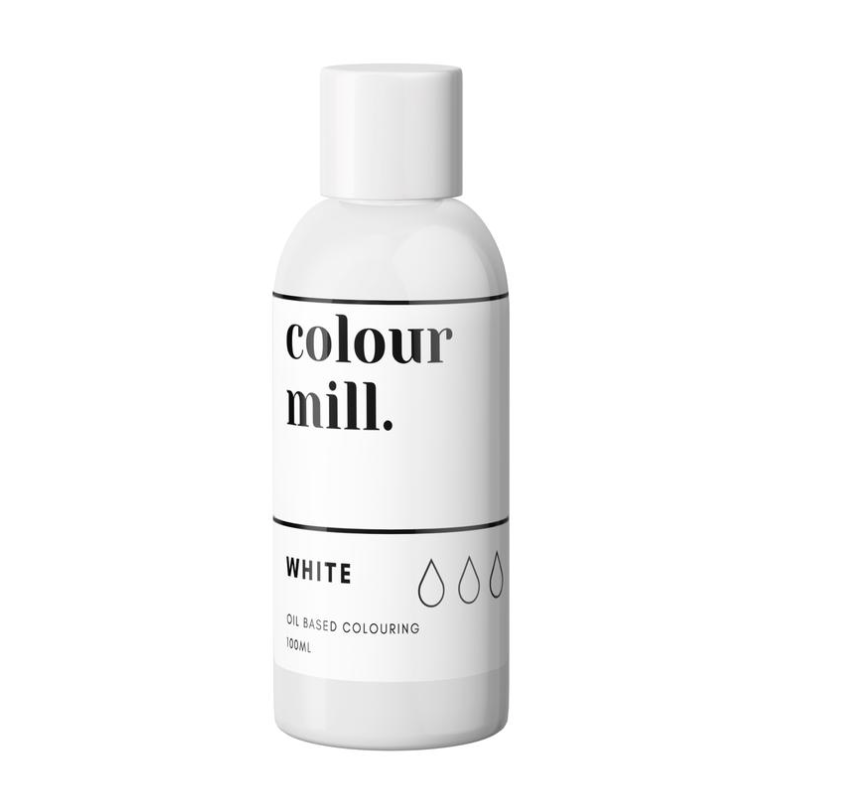 Colour Mill Oil Based Colouring 100ml White