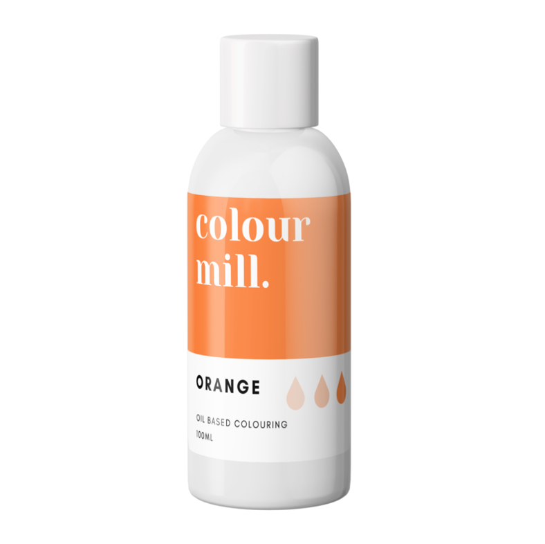 Colour Mill Oil Based Colouring 100ml Orange