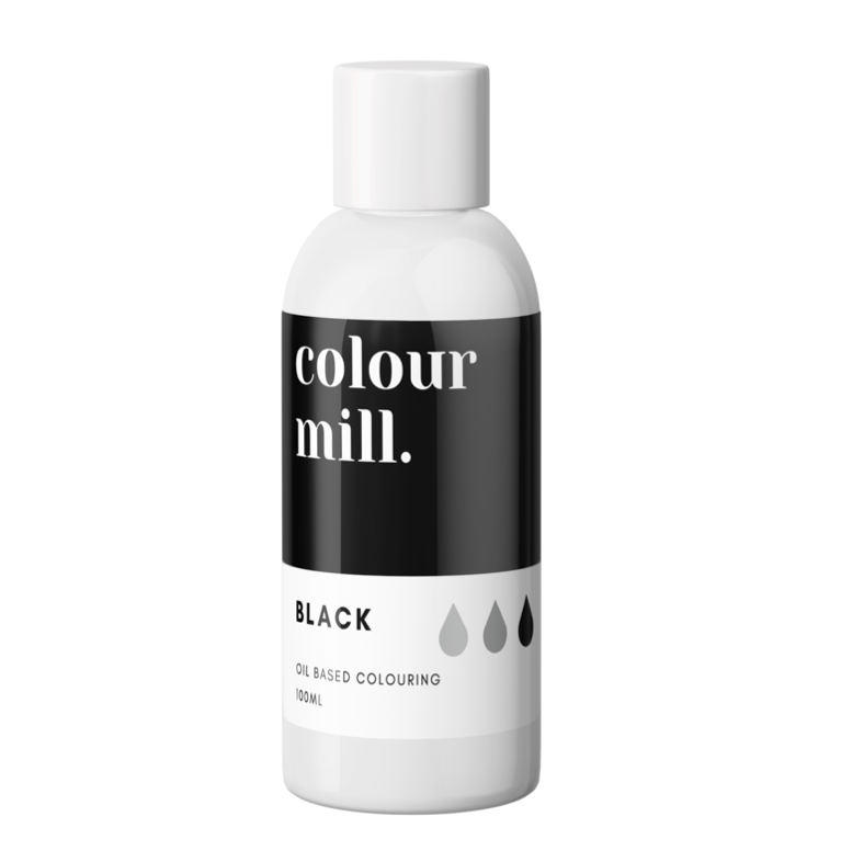 Colour Mill Oil Based Colouring 100ml Black