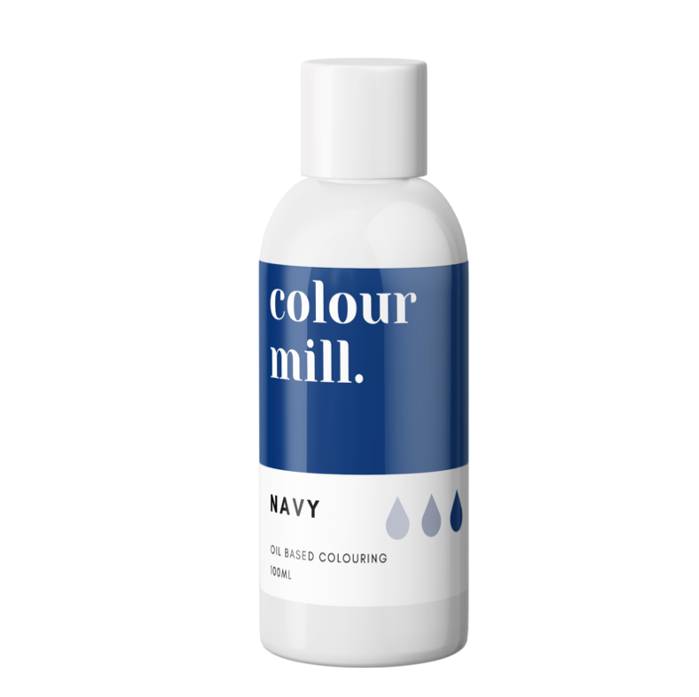 Colour Mill Oil Based Colouring 100ml Navy