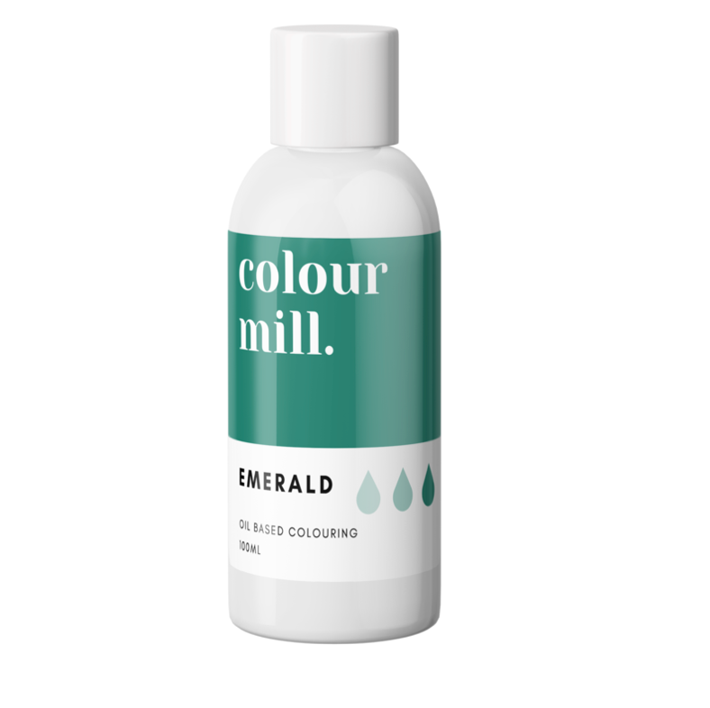 Colour Mill Oil Based Colouring 100ml Emerald