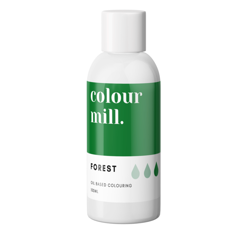 Colour Mill Oil Based Colouring 100ml Forest