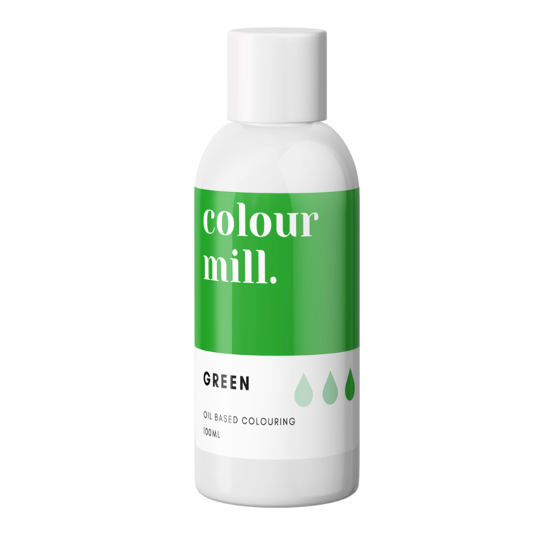 Colour Mill Oil Based Colouring 100ml Green