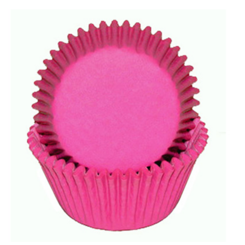 Glassine Baking Cups - Pink