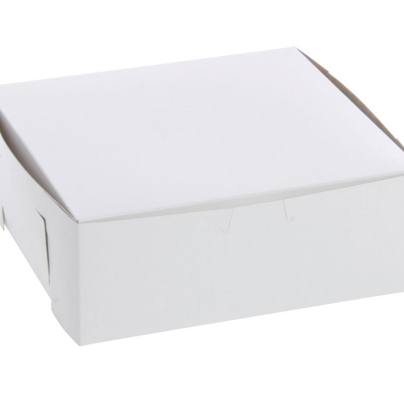 Small Bakery Box  5 x 5x 2.5 inch