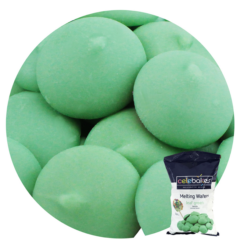 Merckens Celebakes Super Leaf Green Confectionary Coating /Candy Melts