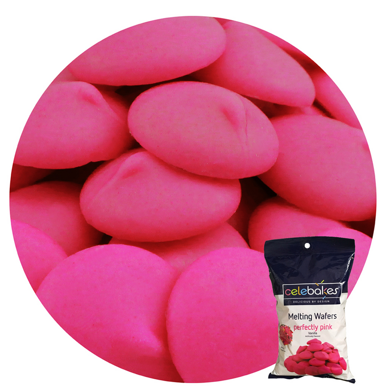 Merckens Celebakes Perfectly Pink Confectionary Coating /Candy Melts