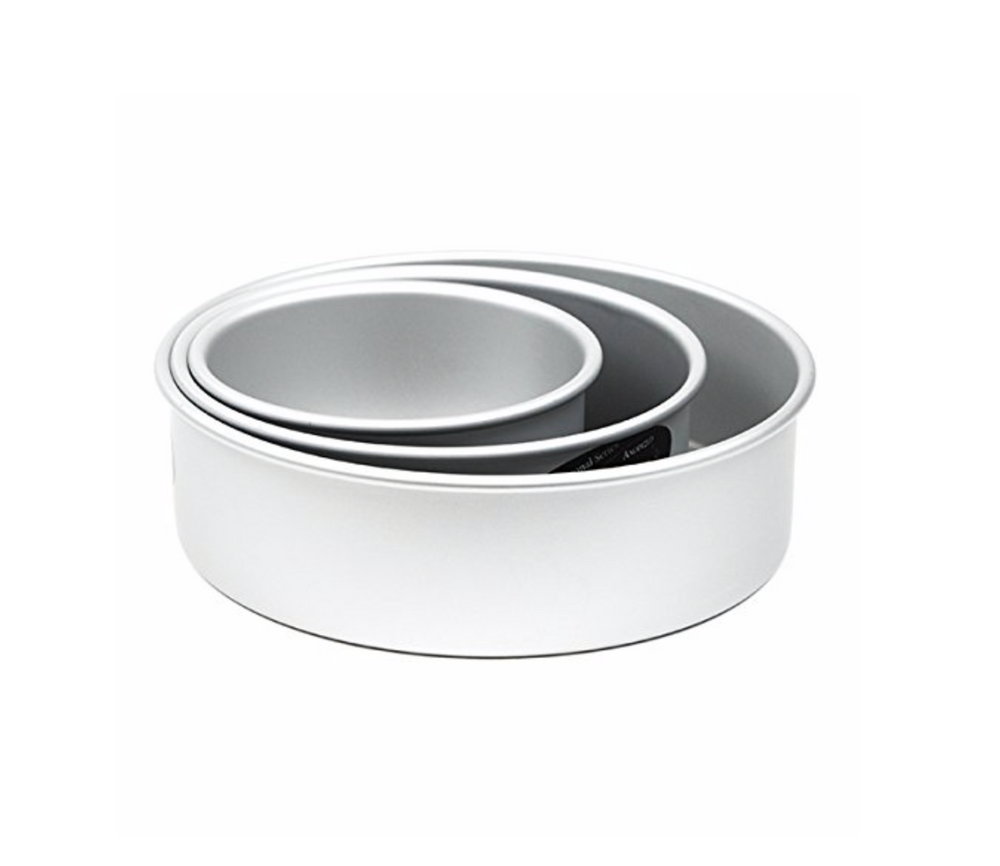 Round Cake Pans from Parrish Magic Line- 3 inch high