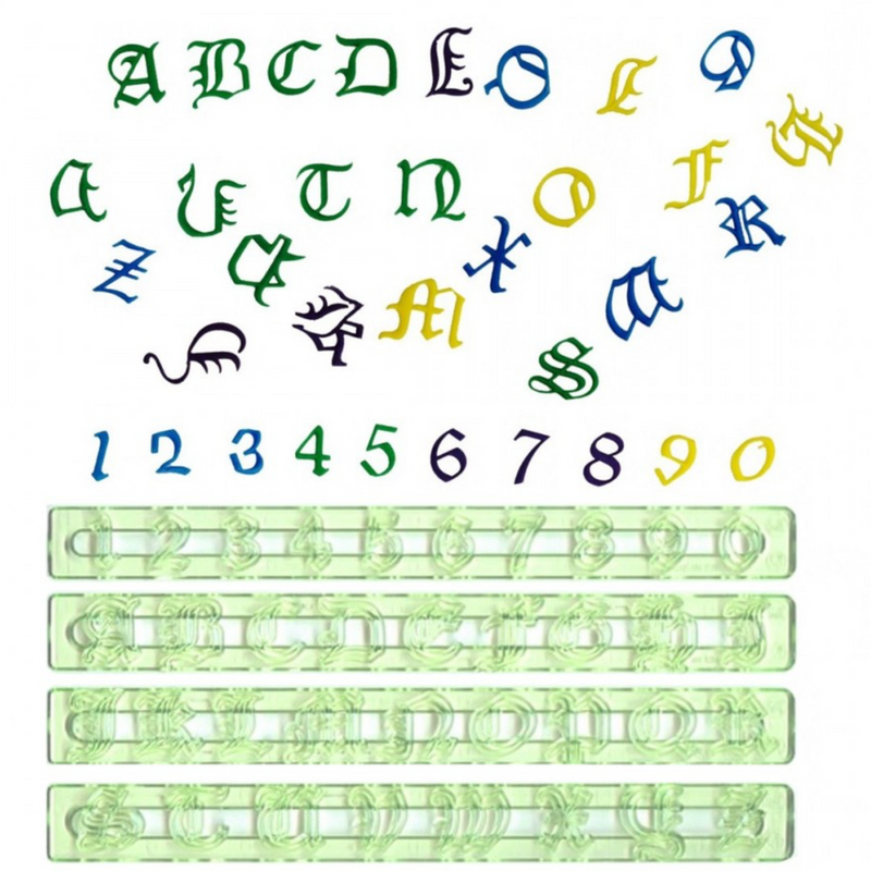 FMM Alphabet Tappits - Old English Upper case