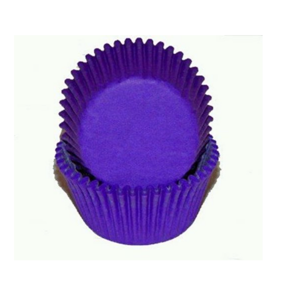 Glassine Baking Cups - Purple