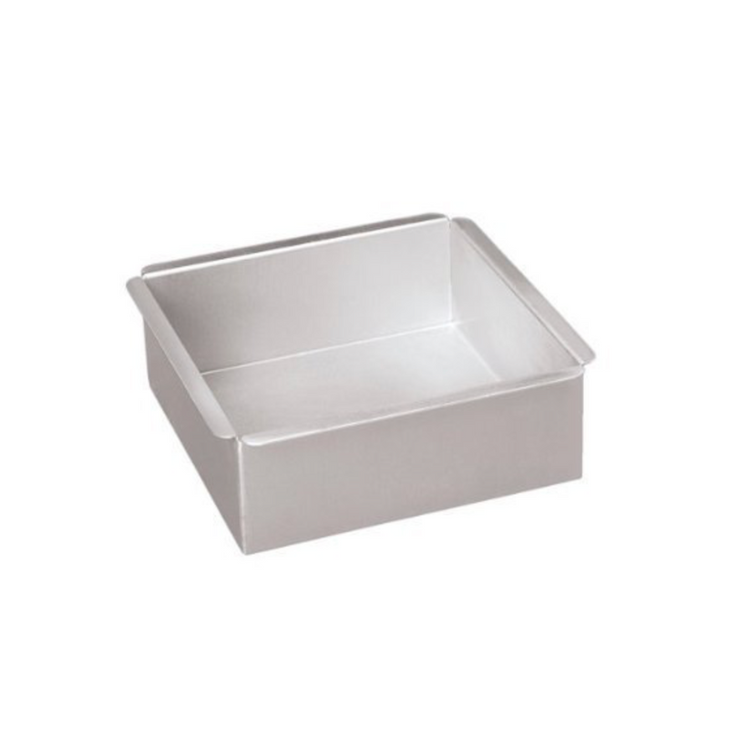 "Square Cake Pans from Parrish Magic Line - 3"" high"