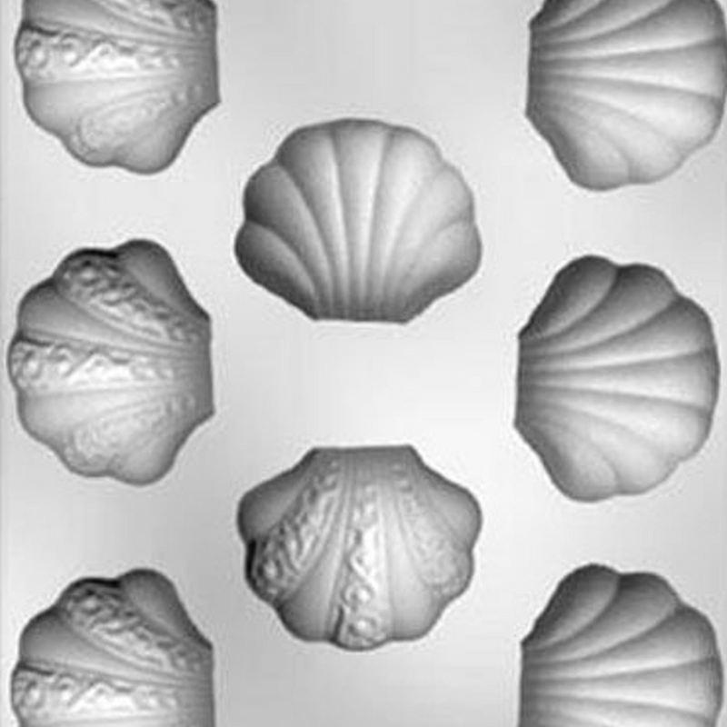Clam Shell Chocolate Mold 8-piece