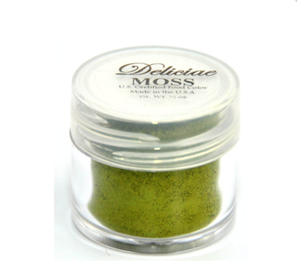 Deliciae Moss Green Food Colour/ Petal Dust