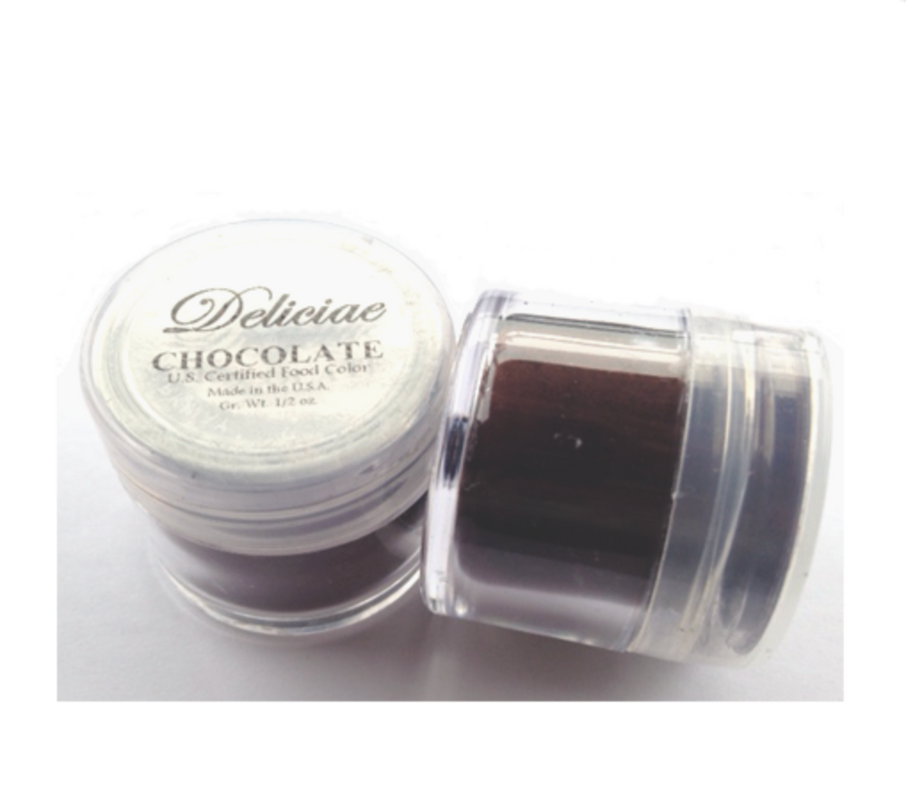 Chocolate Brown Food Colour/ Petal Dust