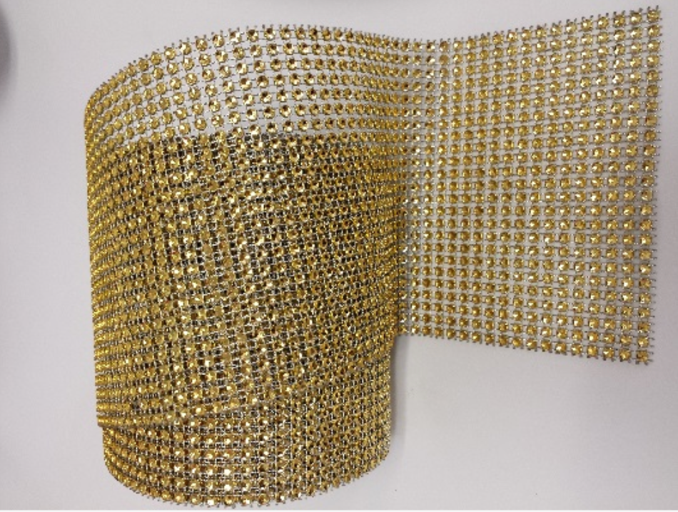 Diamond Rhinestone Ribbon/ Wrap - bulk