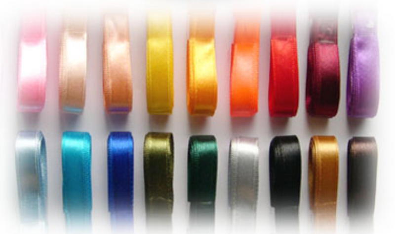 Satin Ribbon - 5/8 inch Wide Various colors
