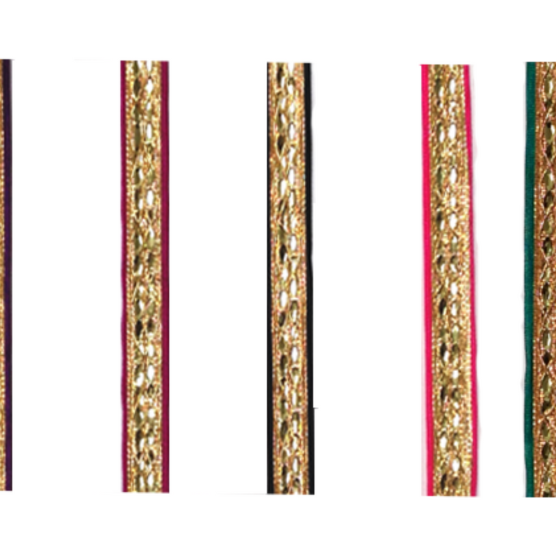 Gold Diamond, Colored Trim Ribbo