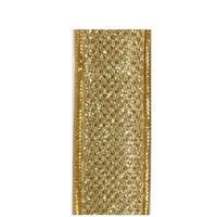 Sparkle Ribbon, Gold Trim