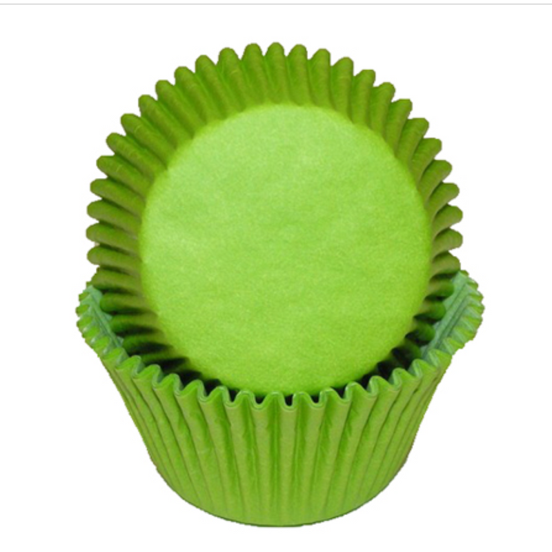 Baking Cups – Lime Green