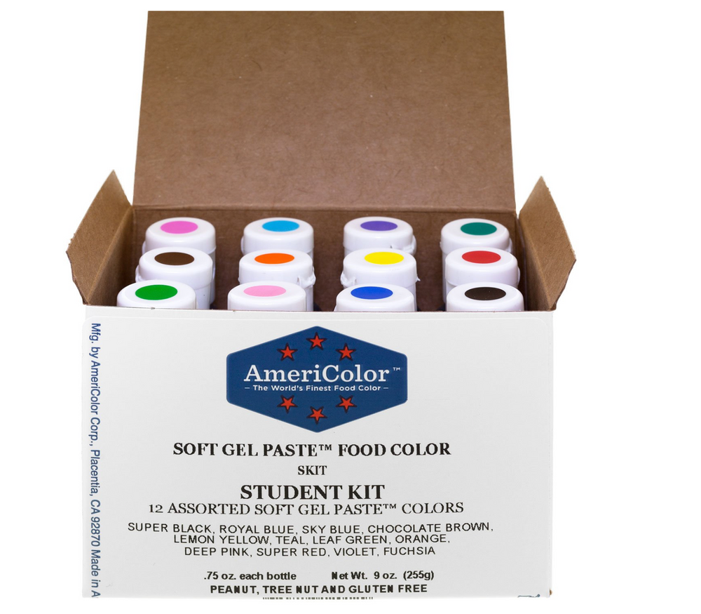 Student Color Kit 12 count By Americolor
