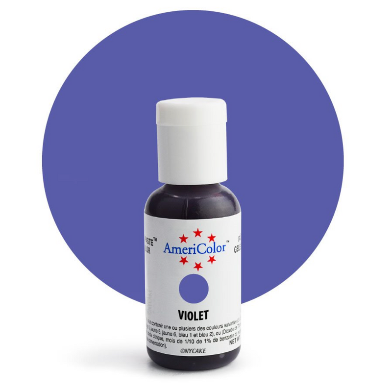 Violet Gel Paste .75 ounce By Americolor