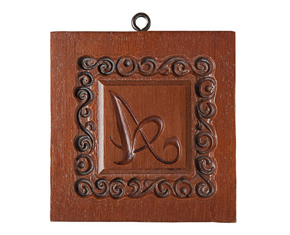 Monogram Springerle Cookie Mold