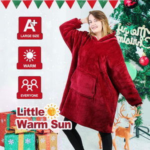 Blanket sweatshirt for adults & children (size: FREE)