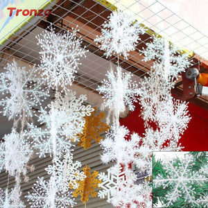 Christmas Party Tree Snowflake Decorations