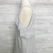 Load image into Gallery viewer, Girls cold shoulder polka dot tunic top
