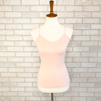 Seamless V neck textured tank *3 colors