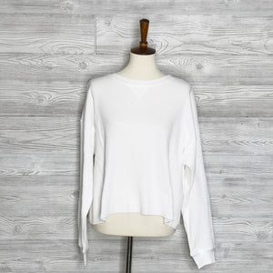 Long sleeve boxy thermal