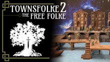 Load image into Gallery viewer, Ill Townsfolke: The Free Folke Top/Wargaming/Medieval Figure Ill Gotten Games