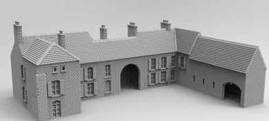Wow1004 Brecourt Manor 6mm WWII War gaming Buildings/WW111/FOW