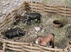 3DAlienWorlds Farmyard Animal Set 28mm TableTop/Wargaming
