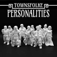 Load image into Gallery viewer, Ill Townsfolke: Personalities Tabletop/Wargaming/Medieval Figure Ill Gotten Games